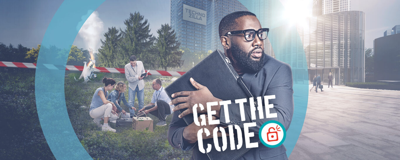 Get the CODE – das Team Escape Game in Bewegung