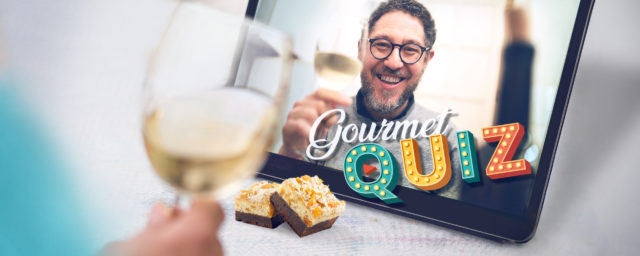 Online Gourmet Quiz als Weihnachtsfeier