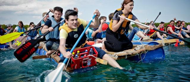 Floßbau Teamevent – Abenteuer erleben und Teampower spüren