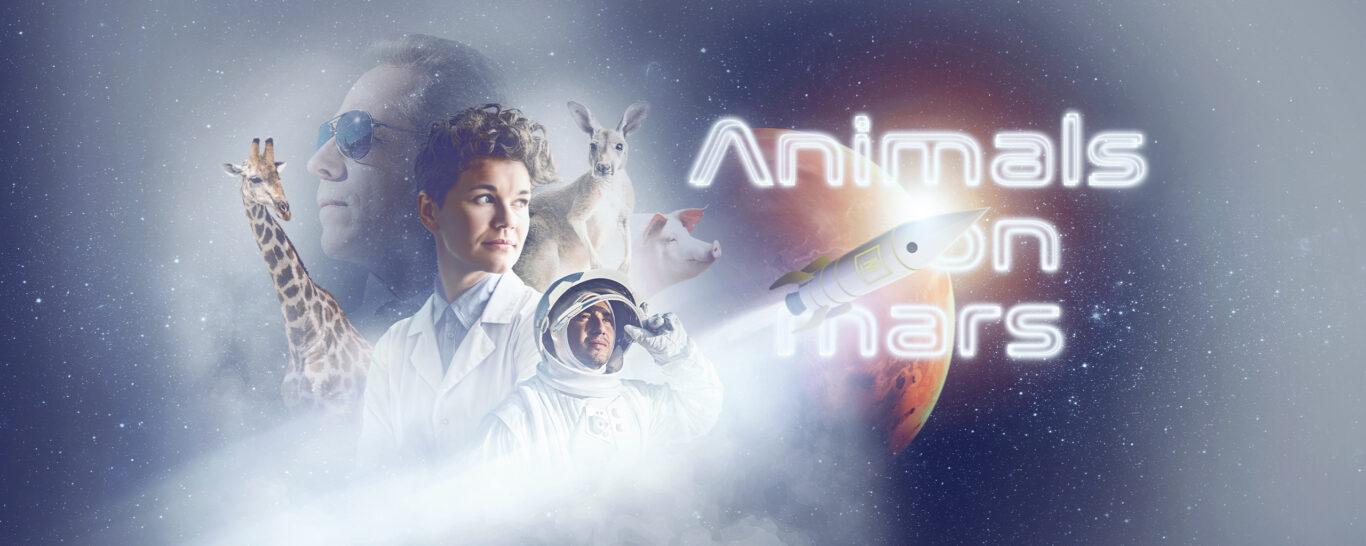 Animals on Mars – Ein Teamevent bringt Leben ins All