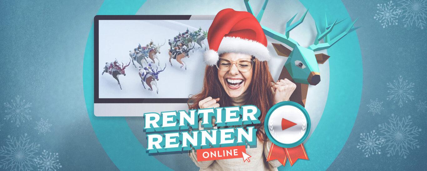 Rentierrennen online – das weihnachtliche Game-Event