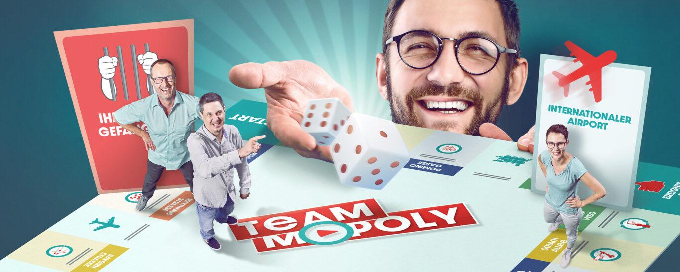 »Team-Mopoly« – Zusammen durch eine vertraute, fremde Welt